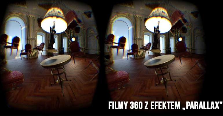 filmy 360 z efektem parallax