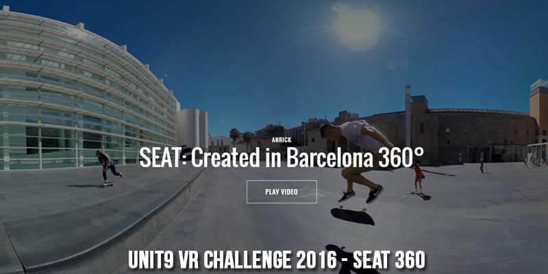 Unit9 VR Challenge 2016 - Seat 360