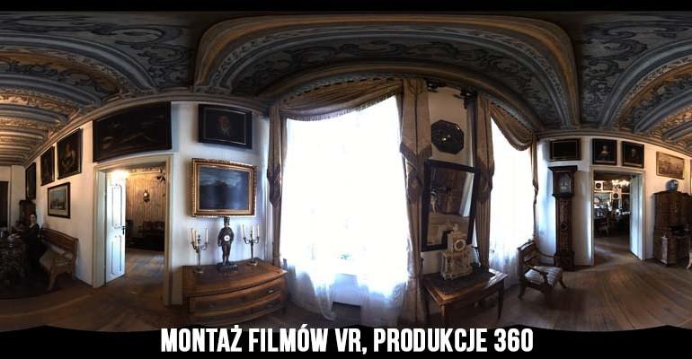 montaż filmów vr, produkcje 360