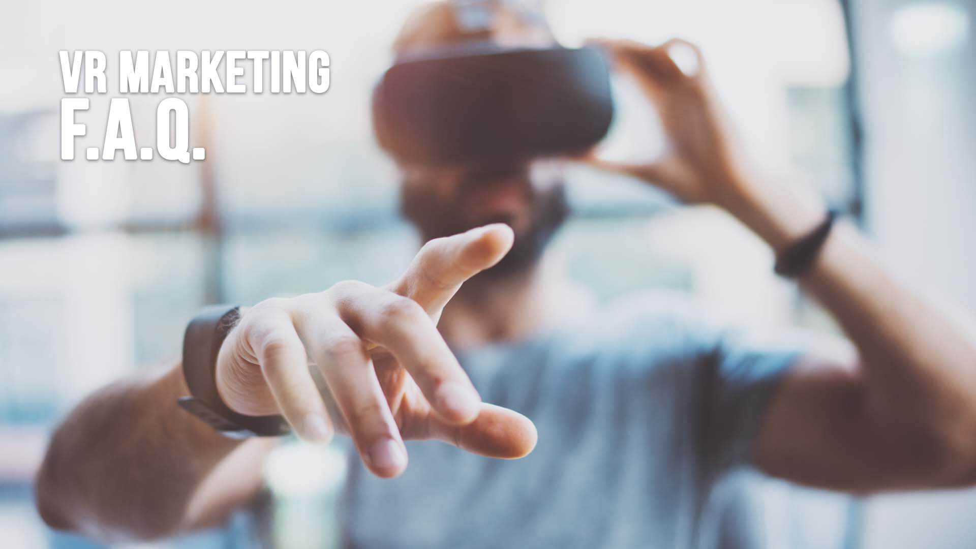 vr marketing faq