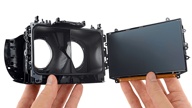 vr googles teardown