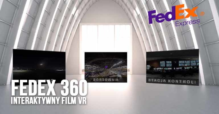 fedex 360 interaktywny film 360