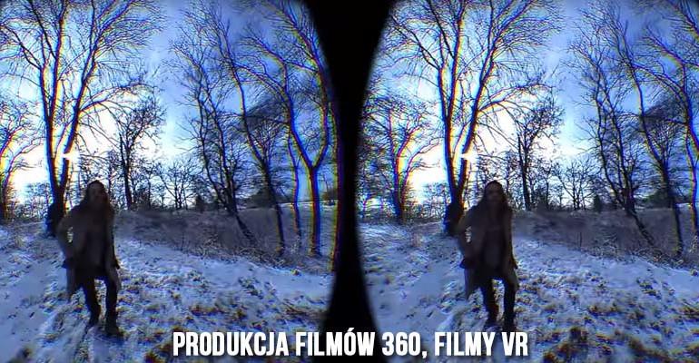 Produkcja filmów 360, filmy vr