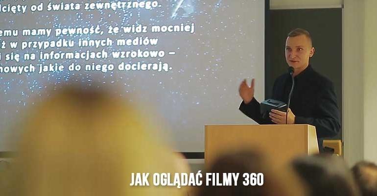 Jak oglądać filmy 360