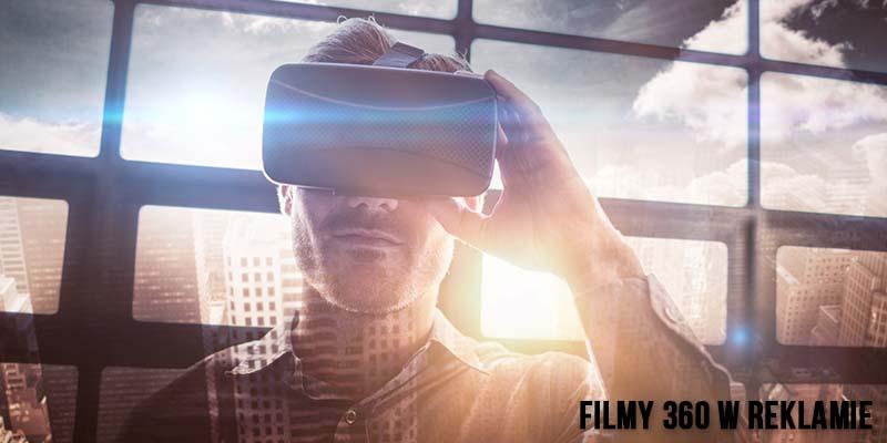 Filmy 360 w reklamie